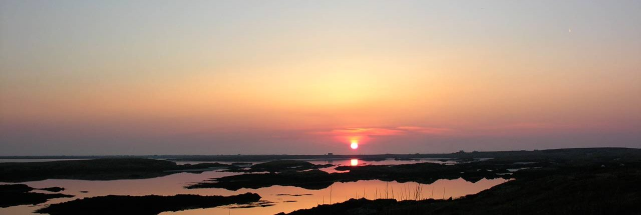 Sunset, Benbecula