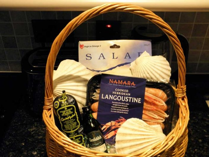 Hebridean Welcome hamper
