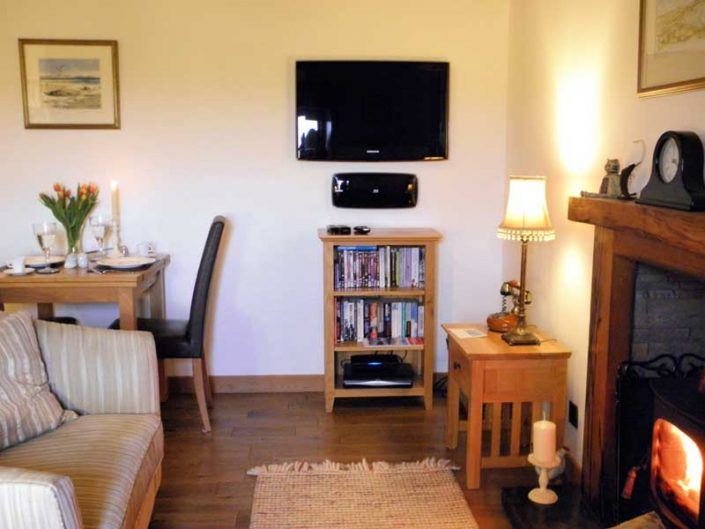 living area Uist holiday cottage