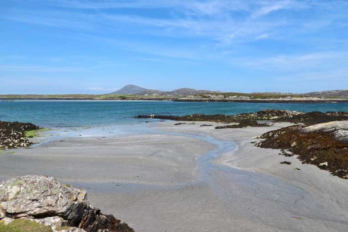 Two hour walk to Benbecula beach
